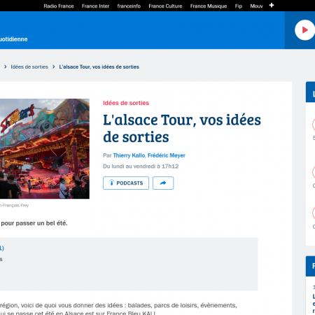 2021.08.25 - Interview de Sandrine Pires à France Bleu Alsace