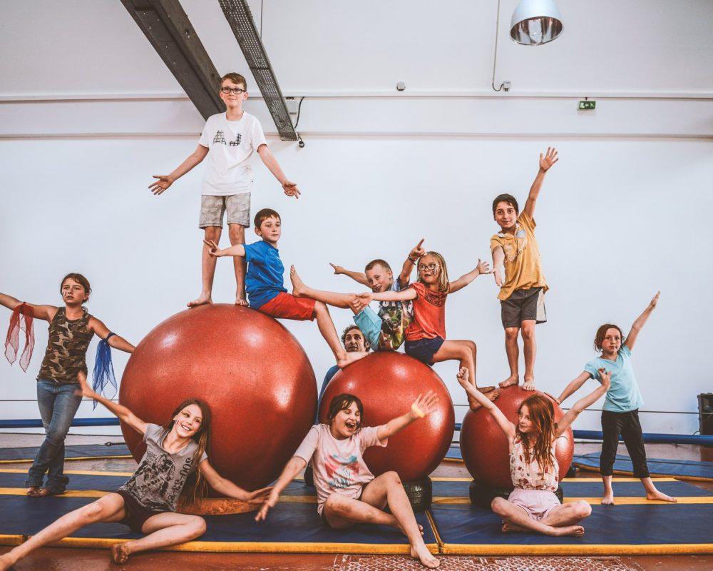 9-13.07.2018   Stage enfants cirque et théâtre - Photo : Vladimir Lutz