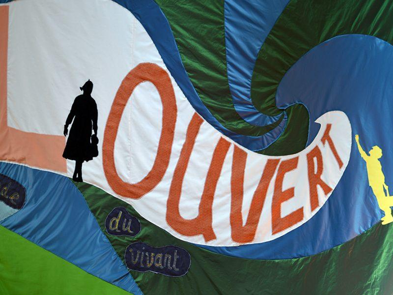 Conscience à Ciel Overt - Nicolas Barberot -Façade du magasin Bleu des Vosges -©S. du Haÿs