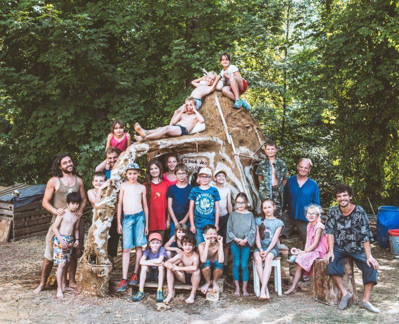 14-19.07.2019 | Stage enfants : Eco-construction | Photo : Vladimir Lutz