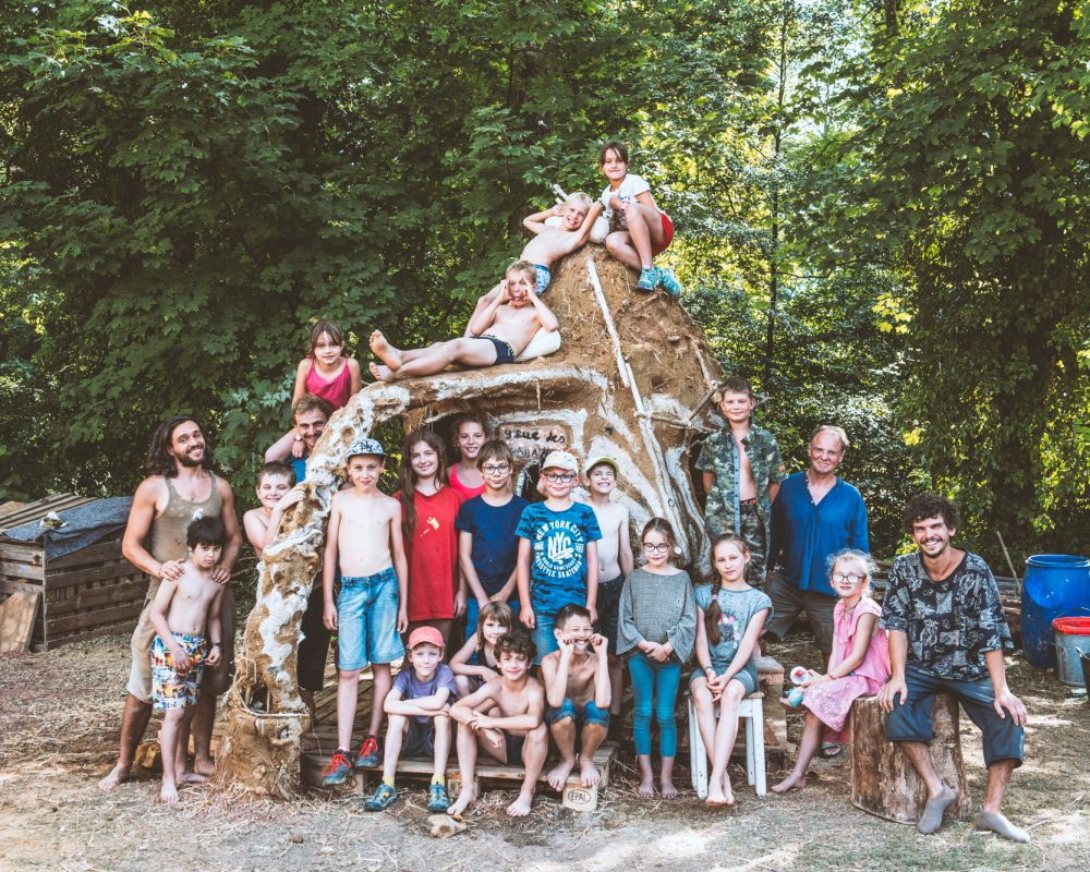 14-19.07.2019 | Stage enfants : Eco-construction | Photo : Vladimir Lutz