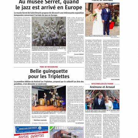St-Amarin musée Serret et Parc de Wesserling belle guinguette pour les triplettes 25-09-2018